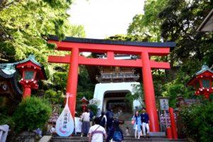 江の島神社 鳥居