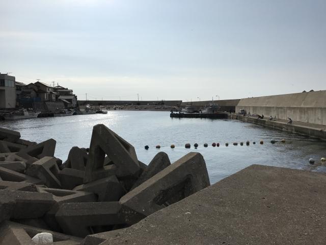堅苔沢漁港のおススメ釣りポイント